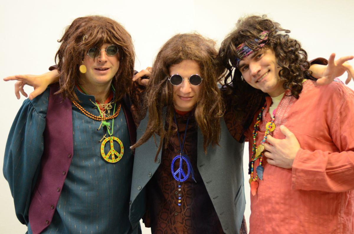 TM Hippies party